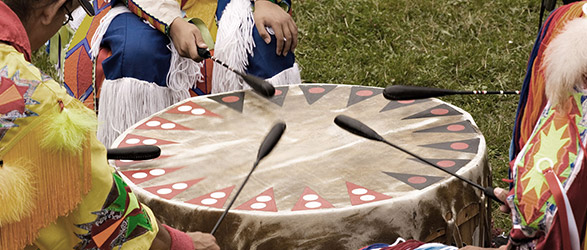 Photo of Young Thunderbirds Big Drum Circle